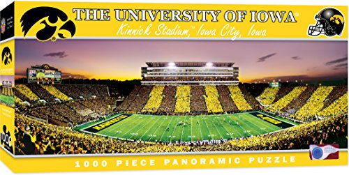MasterPieces Collegiate Iowa Hawkeyes 1000 Piece Stadium Panoramic Jigsaw Puzzle