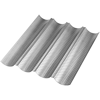 Amazon Com Perforated Aluminum French Baguette Dual Loaf