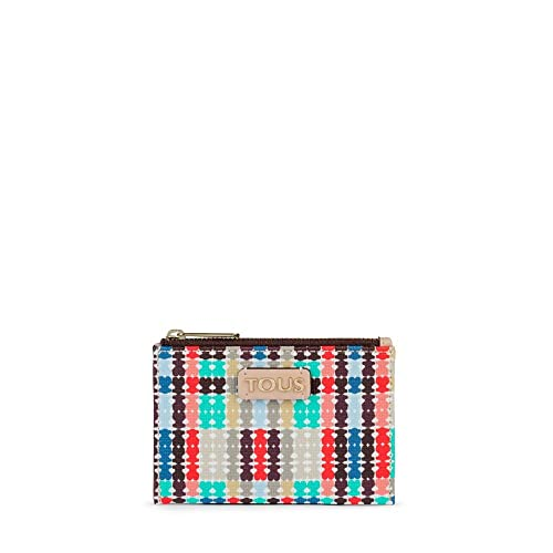 Tous 995790081, Monedero para Mujer, (Azul), 11.5x8x1 cm (W ...