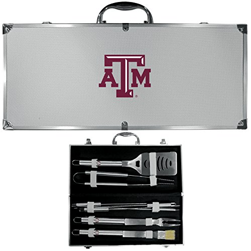 Siskiyou NCAA Texas A&M Aggies 8 Piece BBQ Set w/Case