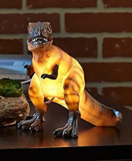 Amazoncom Dinosaur Table Lamp Fantastic Hand Painted Details