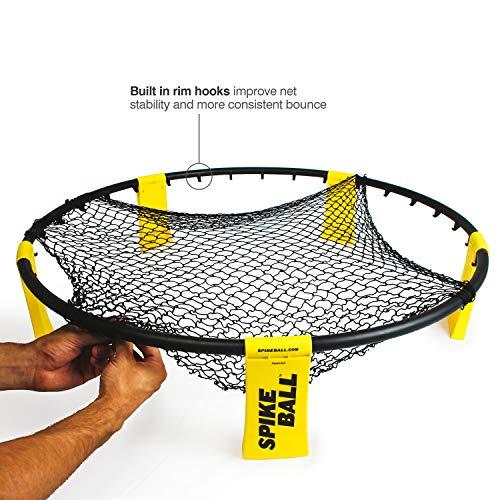 Spikeball Standard 3 Ball Kit – Game for The Backyard, Beach, Park, Indoors