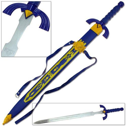 Ancient Sword Warrior - Legend of Zelda Elf Master Ancient Link Knight Warrior Sword Triforce Handmade