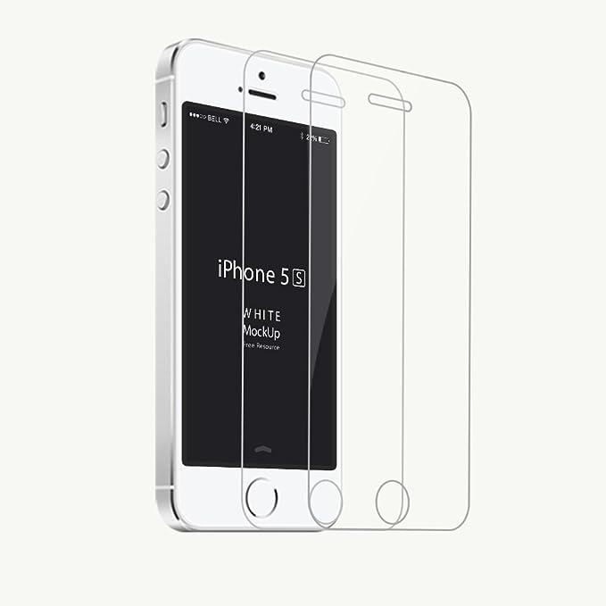 128 opinioni per Sumpple 2X Per iPhone 5/5S/5C/ SE Protettiva Schermo in Vetro Temperato