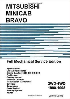 Mitsubishi minicab bravo full mechanical service manual james danko mitsubishi minicab bravo full mechanical service manual 6999 free shipping fandeluxe Choice Image