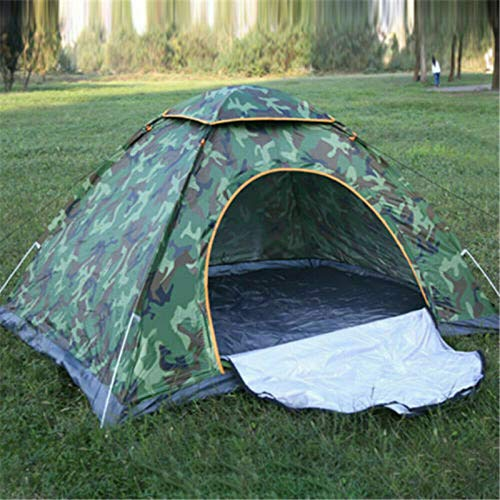 COSANSYS Outdoor Camouflage Dome Tent, Waterproof UV Protection Sun Beach Shelter Pop Up Tent for Camping Fishing…