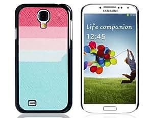 Colorida caja de plástico a rayas para Samsung Galaxy S4 / i9500