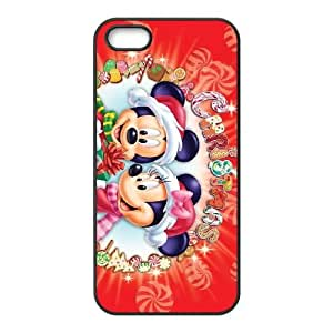Mickey Mouse Iphone 5 5S Cell Phone Case Black Special gift FG8U0608