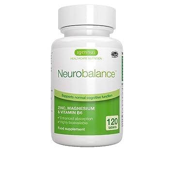 Neurobalance, Zinc, Magnesium & Vitamin B6 Supplement for Adults &  Children, 120 Tablets