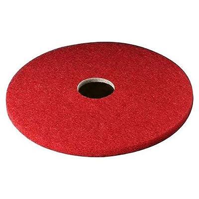 "3M Buffer Pad 5100, 18"", 5/Case, Red"