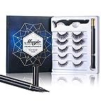 Magic False Eyelashes With Eyeliner