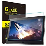 IVSO Screen Protector for AT&T Lenovo Moto Tab Tempered-Glass