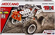 Meccano, 15-in-1 Super Truck, S.T.E.A.M. Building Kit, for Ages 10 and Up