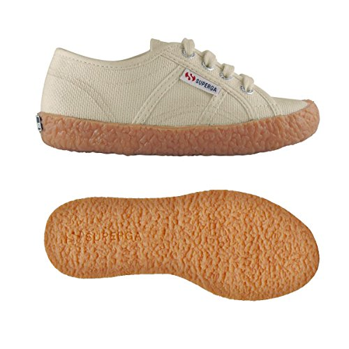 Superga 2750-Naked Cotj, Zapatos Bebé-Niñas^Bebé-Niños Ivory