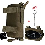 xhorizon SR Eyeglasses Case, 1000D Nylon Eyeglasses Hard Clamshell Carry Glasses Case Tactical Molle Sunglasses Carrying Case with Clip