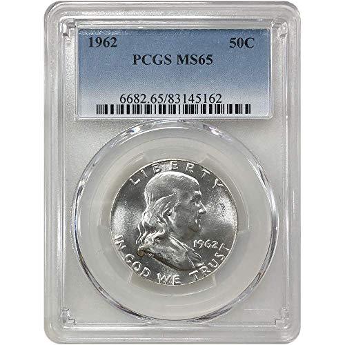 Ms65 Gold Coin - 1962 P Franklin Half Dollar 50C MS-65 PCGS