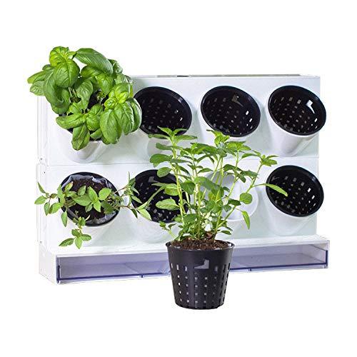 Watex Pixel Garden Desktop, Kitchen Farm, White - Desktop Garden