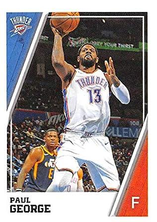 2e429af1c3bd8 Amazon.com: 2018-19 Panini NBA Stickers Collection #328 Paul George ...
