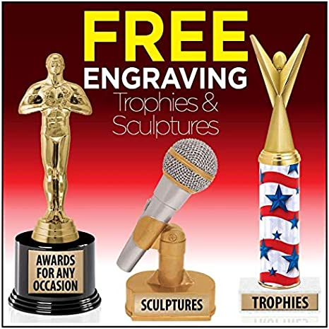 Engraving Included Crown Awards 8.5 Worlds Best Dad Trophy