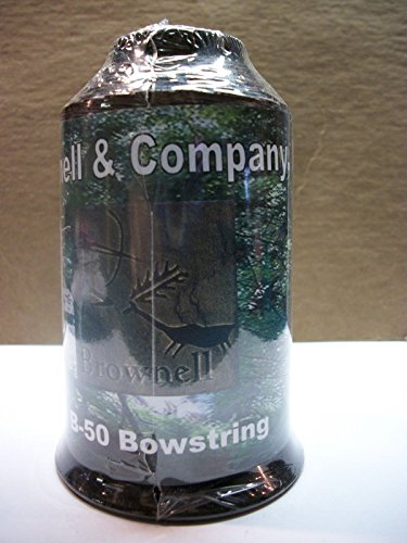 Brownell Brown B50 Bowstring Material 1/4lb Dacron Bow String Archery