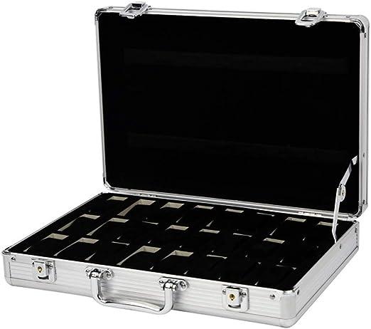 Cajas para Relojes, Hombres Mujeres Aleación de aluminio 24 ...