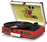 Crosley CR8005A-DS Cruiser Portable 3-Speed Turntable, Disney