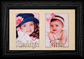 Amazoncom Personalizedbyjoyceboycecom Daddys Girls Double Black