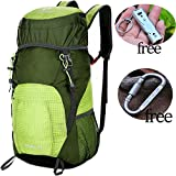 Cheap YAVOUN Lightweight Hiking Backpack, Packable Foldable Daypack, Waterproof Back Packs for Hiking,Daypack for Travel (Military green)