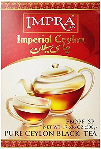 Impra Pure Ceylon Black Tea, Imperial, 17.63-Ounce (Imperial Black Tea)