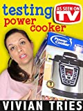 Review: Vivian Tries: Testing Power Cooker As Seen on TV