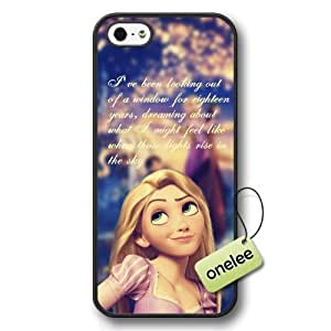 Cartoon Movie Disney Tangled Princess Rapunzel Hard Plastic Phone Case & Cover Case For Sam Sung Note 2 Cover - Black 1
