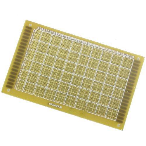 Sonline 9x15cm PCB carte de circuit imprime Printed Circuit Board a simple face