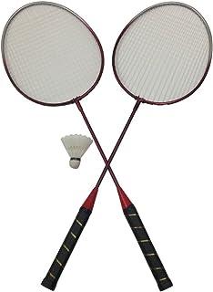 3 pièces Set de badminton Badminton Set 2x bädmintonschläger badminton-schläger-set avec 1x badminton balles pour enfants