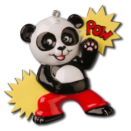 - Personalized Christmas Ornaments Karate Panda
