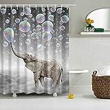Cute Bathroom Sets Messagee Cute Bubble Elephant Shower Curtain Bath Art