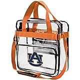 FOCO NCAA Team Logo Clear See Through Stadium High End Messenger Bag