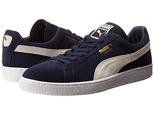 [PUMA(プーマ)] メンズランニングシューズ?スニーカー?靴 Suede Classic Peacoat/White Men's 13 (31cm) Medium
