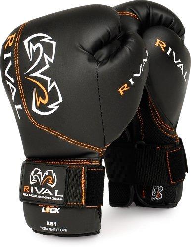 Rival Ultra Bag Gloves, Black, 14-Ounce