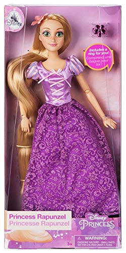 (Disney Store Rapunzel Classic Doll with Ring - Tangled - 11 1/2'' 2018 Version)