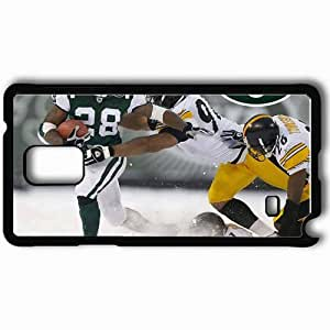 Personalized Samsung Note 4 Cell phone Case/Cover Skin 1412 new york jets Black