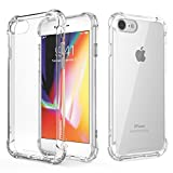 Phone Case for iPhone 6/6s7/8 | Clear (Transparent) | TPU Defensive Cover Skin | Anti-Scratch Protective Case | Cover Cases | Promo Code Below