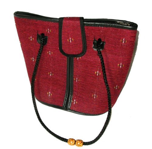 Trade Suede Choose Deep Red Bag Fair Your Fashion Design African agdq4