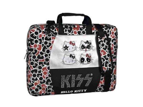 Hello Kitty Notebooktasche Laptoptasche Tasche Laptop Notebook Kiss 17 Zoll Strasssteine