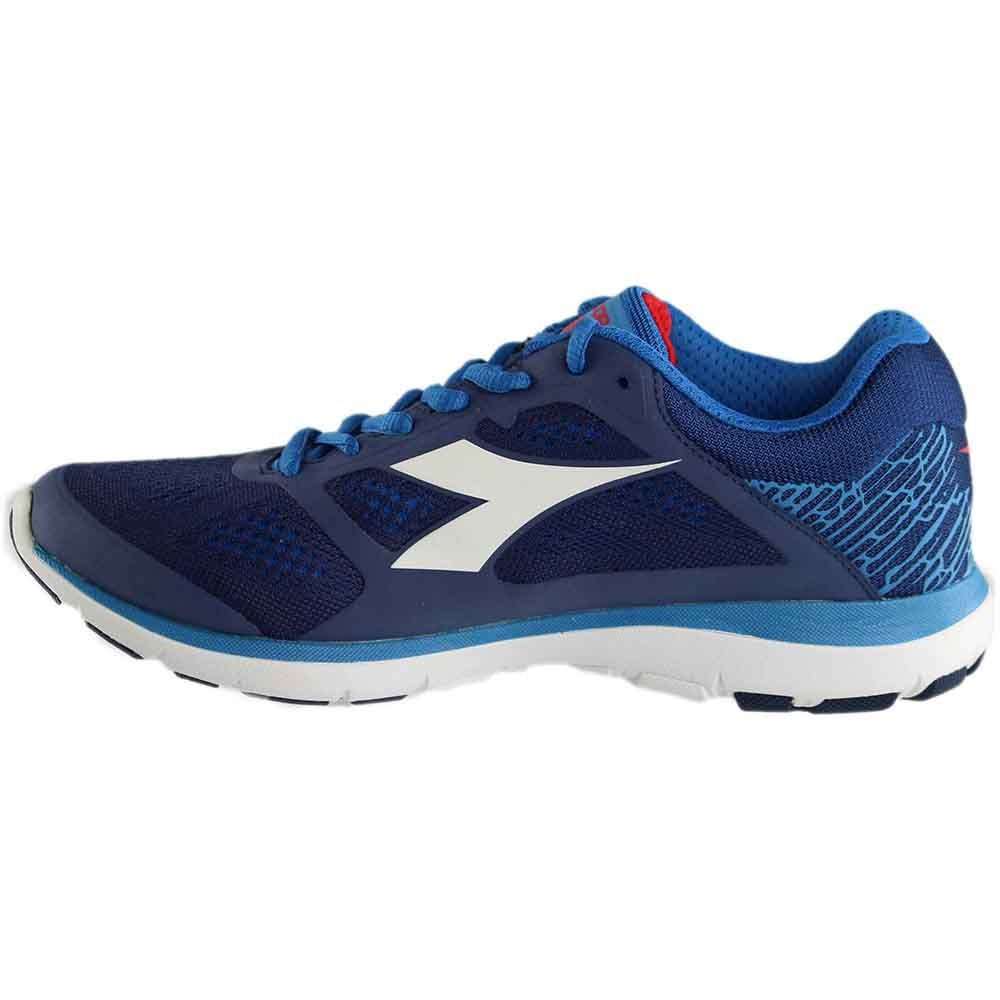 Diadora Men's X Run Saltire Navy/Assuro Bambino/White Athletic Shoe IcFCJ