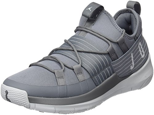 Jordan Men's Trainer Pro Training Shoe, Cool Grey/Pure Platinum-Pure Platinum 8 by Jordan