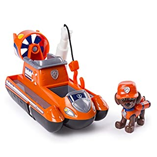 PAW Patrol Ultimate Rescue - Zuma's Ultimate Rescue Hovercraft with Moving Propellers & Rescue Hook, Ages 3 and Up