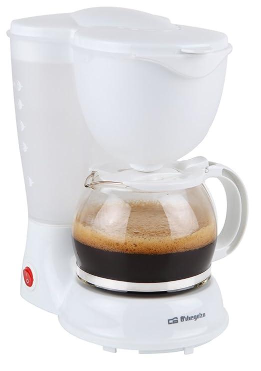 Orbegozo CG-4010 B CG 4010 B-Cafetera de goteo, 600 W, Blanco