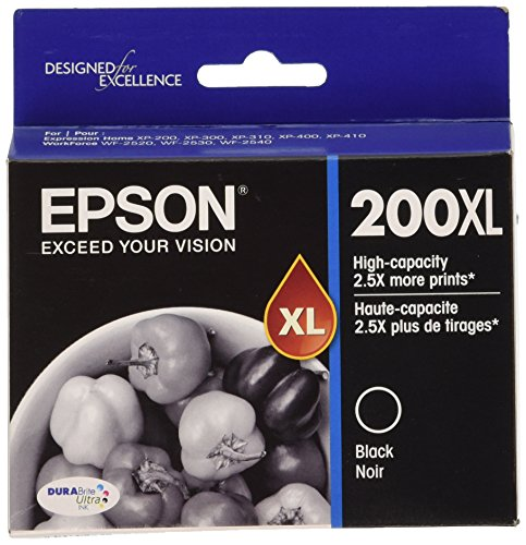 Epson 200XL High Yield Capacity Inkjet Cartridge Black T200XL120