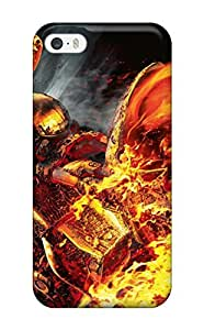 1047583K43846542 Series Skin Case Cover For Iphone 5/5s(ghost Rider)