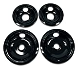Whirlpool W10288051 Drip Pan Kit, Black